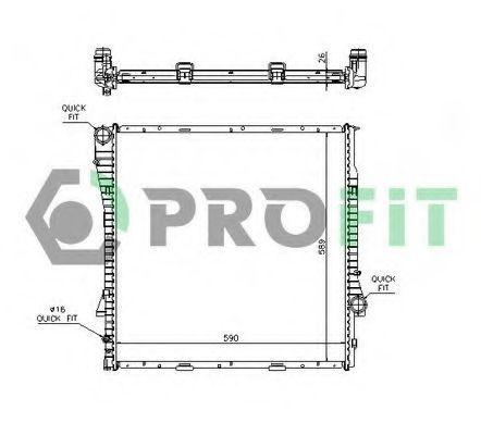 Радиатор охлаждения PROFIT PR 0075A1