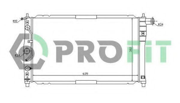 Радиатор охлаждения PROFIT PR 1106A1