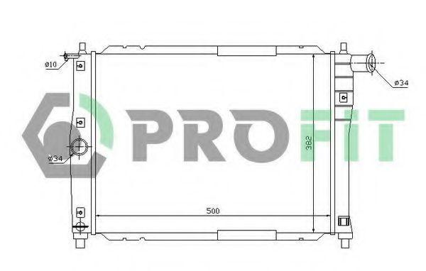 Радиатор охлаждения PROFIT PR1106A2