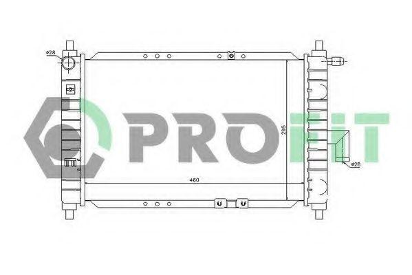 Радиатор охлаждения PROFIT PR1115A1