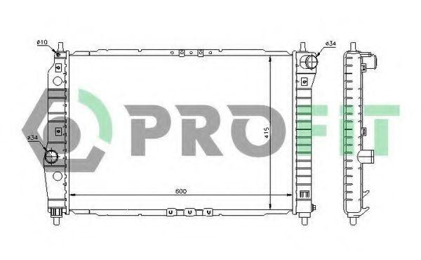 Радиатор охлаждения PROFIT PR1703A1