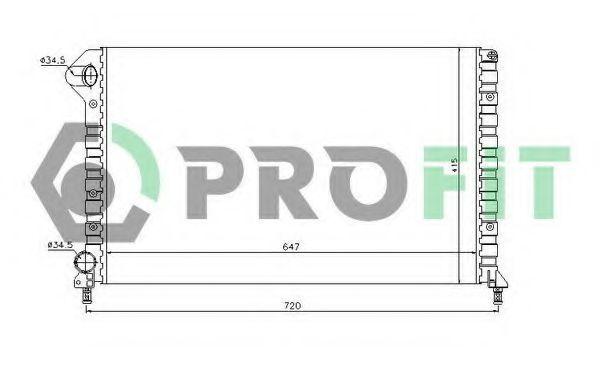 Радиатор охлаждения PROFIT PR2210A1