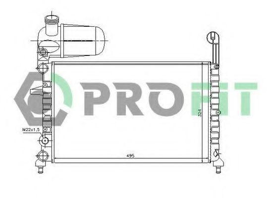 Радиатор охлаждения PROFIT PR2410A1