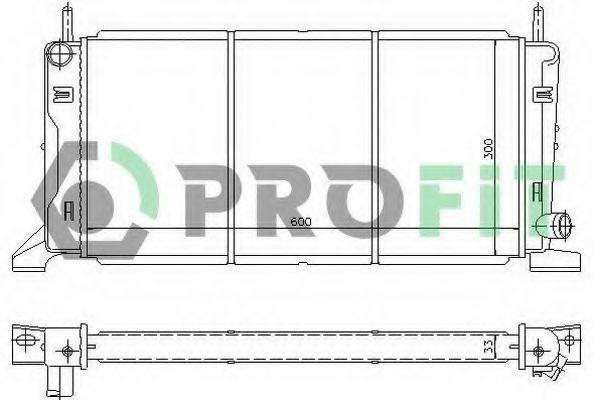 Радиатор охлаждения PROFIT PR2545A1