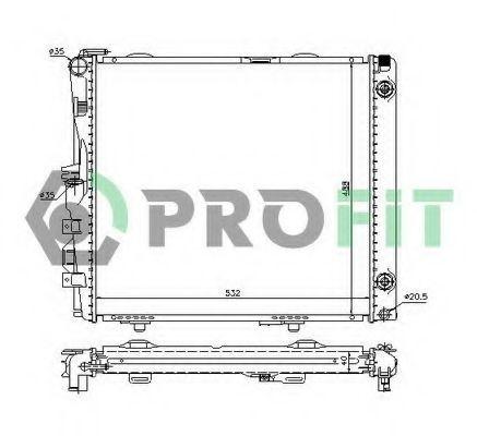 Радиатор охлаждения PROFIT PR3526A1