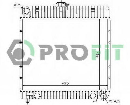 Радиатор охлаждения PROFIT PR 3561A1