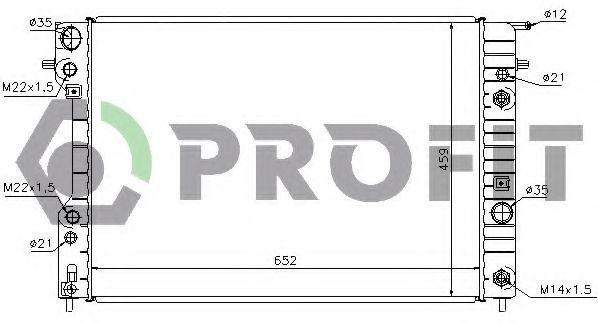 Радиатор охлаждения PROFIT PR5080A1