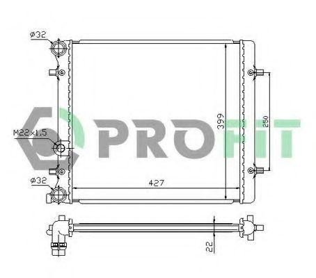 Радиатор охлаждения PROFIT PR9523A1