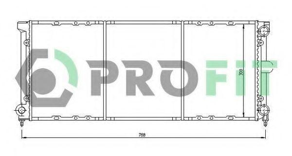 Радиатор охлаждения PROFIT PR9537A1