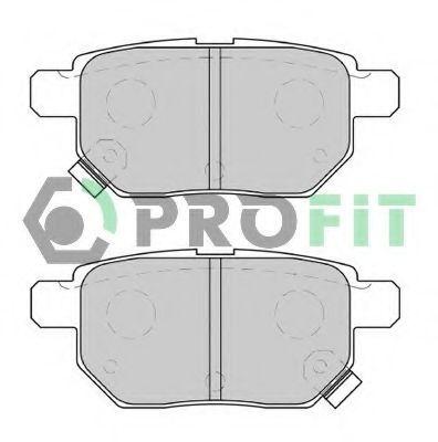 Колодки тормозные задние PROFIT 5000-4042