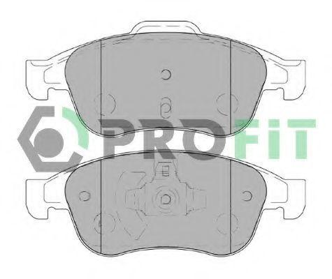 Колодки тормозные передние PROFIT 50004180