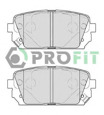 Колодки тормозные задние PROFIT 50004193