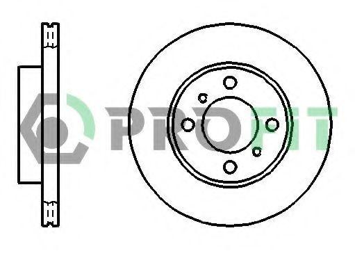 Диск тормозной PROFIT 50101005