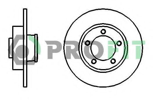 Диск тормозной PROFIT 50101498
