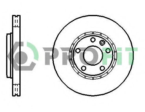 Диск тормозной PROFIT 50101204