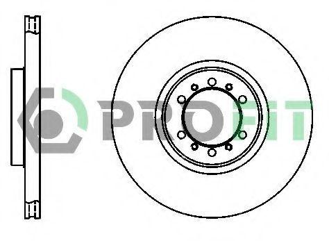Диск тормозной PROFIT 50101212