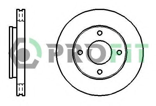 Диск тормозной PROFIT 50101621