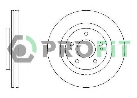 Диск тормозной PROFIT 50101659