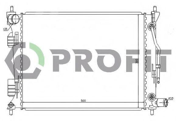 Радиатор охлаждения PROFIT PR1804A5