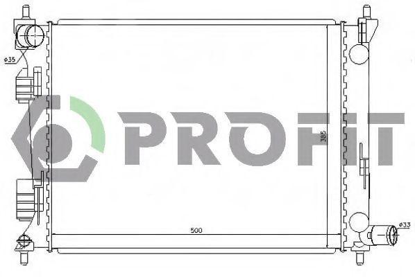 Радиатор охлаждения PROFIT PR 1804A6