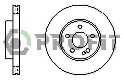 Колодки тормозные PROFIT 50101203
