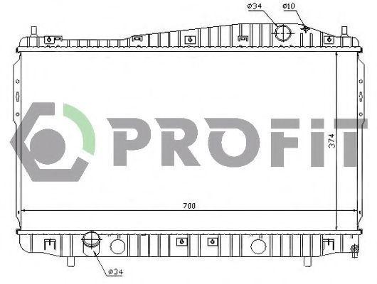 Радиатор охлаждения PROFIT PR1705A5