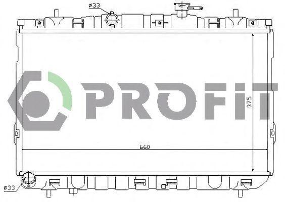Радиатор охлаждения PROFIT PR1806A1