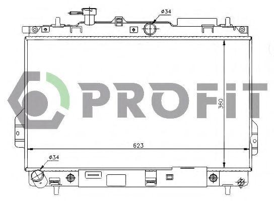 Радиатор охлаждения PROFIT PR1806A3