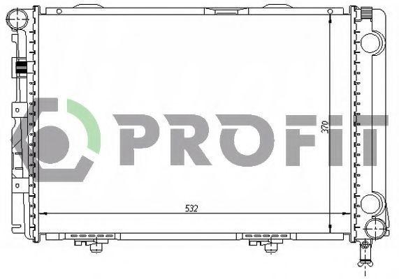 Радиатор охлаждения PROFIT PR3524A6