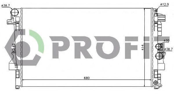 Радиатор охлаждения PROFIT PR3560A3