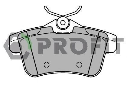 Колодки тормозные PROFIT 50004224
