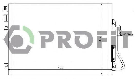 Конденсор кондиционера PROFIT PR1914C1