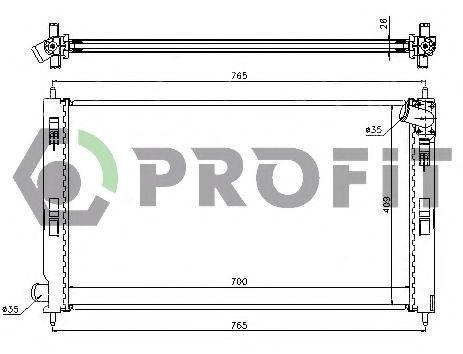 Радиатор охлаждения PROFIT PR4012A1