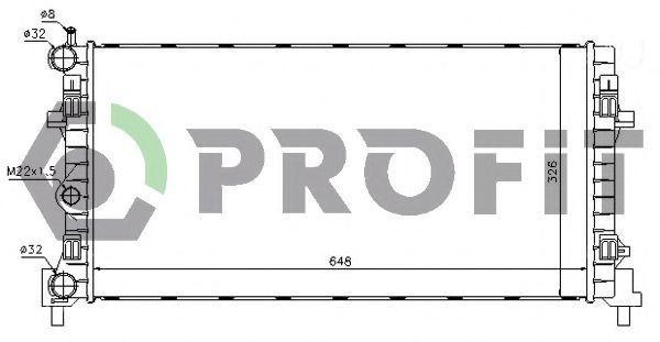 Радиатор охлаждения PROFIT PR 9504A5