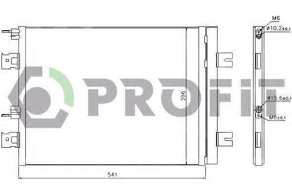 Конденсор кондиционера PROFIT PR1901C3