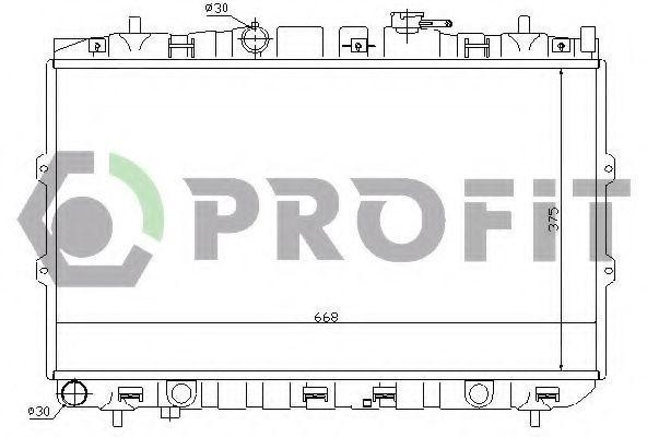 Радиатор охлаждения PROFIT PR2910A9