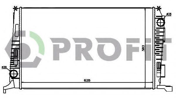 Радиатор охлаждения PROFIT PR6037N8