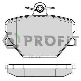 Колодки тормозные PROFIT 50001162
