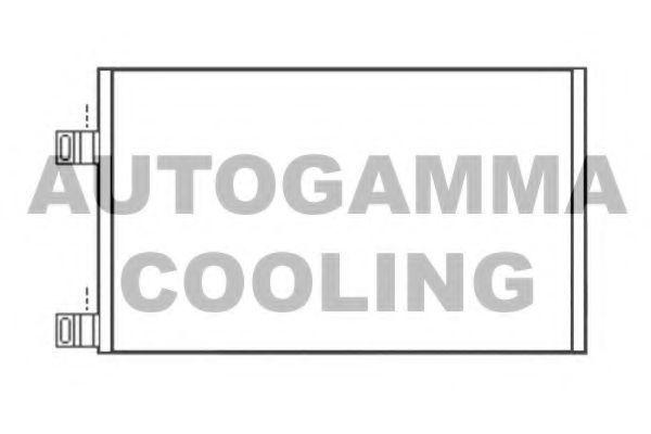 Конденсатор, кондиционер AUTOGAMMA 105479