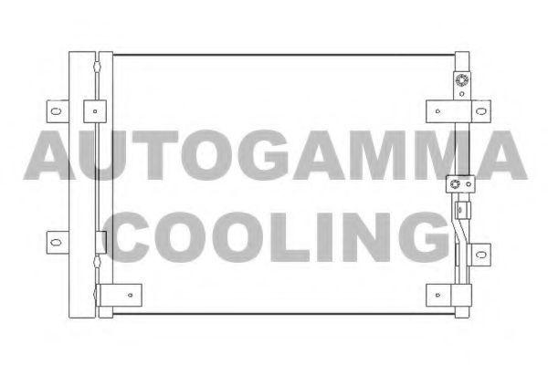 Конденсатор, кондиционер AUTOGAMMA 105599