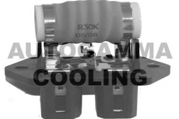 Дополнительный резистор, электромотор - вентилятор радиатора AUTOGAMMA GA15508