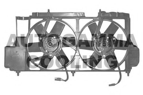 Вентилятор, охлаждение двигателя AUTOGAMMA GA201647