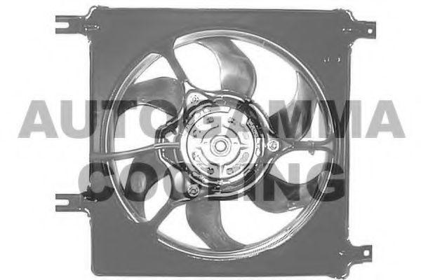 Вентилятор, охлаждение двигателя AUTOGAMMA GA201854