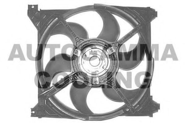 Вентилятор, охлаждение двигателя AUTOGAMMA GA228017