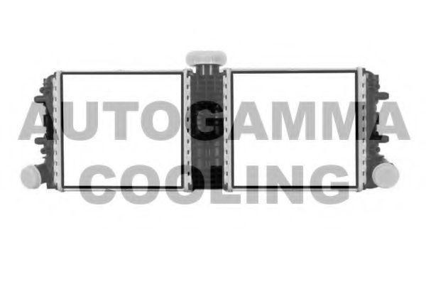 Радиатор, охлаждение двигателя AUTOGAMMA 107420