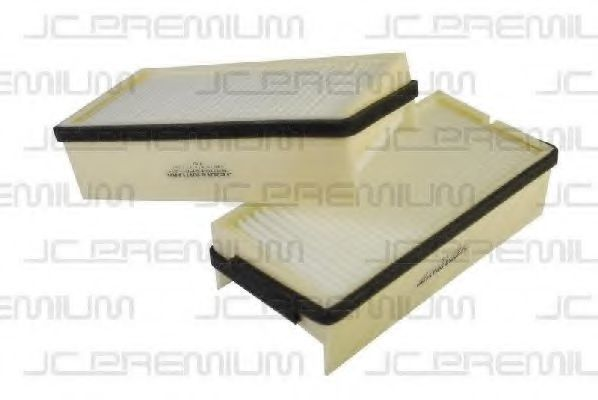 Фильтр салона комплект 2шт JC PREMIUM B4X018PR-2X