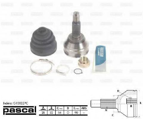 ШРУС PASCAL G10022PC