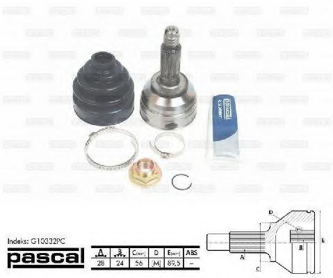 ШРУС внешний PASCAL G10332PC