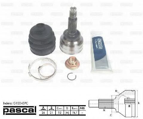 ШРУС наружный PASCAL G10343PC