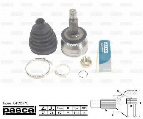 ШРУС внешний PASCAL G10354PC